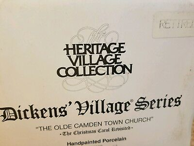 Department 56 - Dickens Village - The Olde Camden Town Church  - Building
