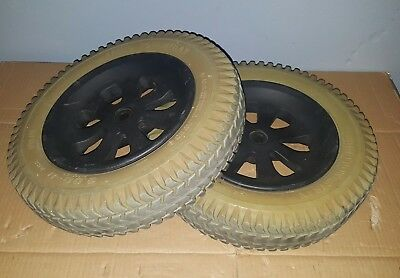 Wheels & Tires for Pride Jazzy 1100 Power Wheelchair ~set of 2~