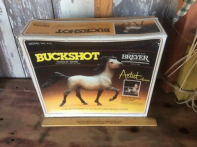 Vintage Breyer Buckshot  Barb , Model No 415, In Original Box, Bob Scriver