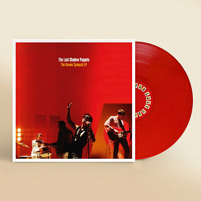 The Last Shadow Puppets The Dream Synopsis Ep Ltd Edition Red Vinyl New & Sealed