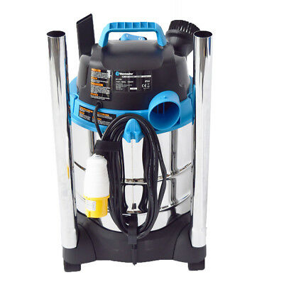 110v Vacuum Cleaner Wet and Dry Industrial 20L | 110v Dust Extractor with Blower