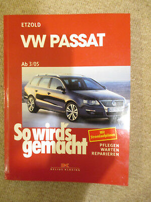 reparaturanleitung vw passat 3c so wirds gemacht etzold. Black Bedroom Furniture Sets. Home Design Ideas