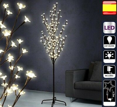 Arbol de navidad 180 cm luces led DECORATIVO CEREZO.