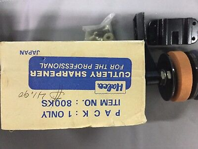 Halco Cutlery Knife Sharpener 800Ks Rotary Sharpening Stones Nos