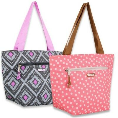 Women Lunch Bag Insulated Cooler Tote Bags Picnic Office