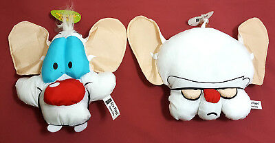 Animaniacs Pinky and the Brain new suction cup hanging decoration
