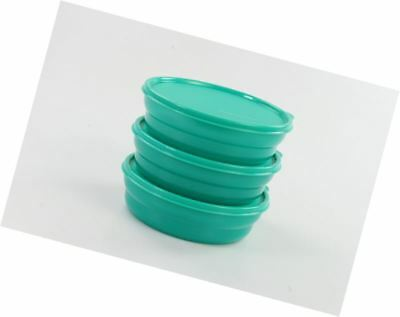 TUPPERWARE Microwave Cereal Bowl 550 ml green (3) 15258