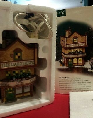 """Department 56 """"the Daily News"""" Dickens' Village Series"""