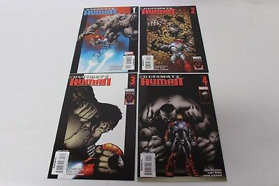 Ultimate Human #1 #2 #3 #4 Complete Set Run Marvel Comics Warren Ellis F/VF