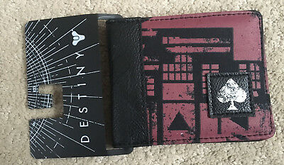 Destiny 2 Hunter Red Mixed Materials Bifold Wallet