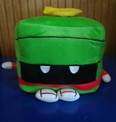 "Nwt Large 8"" X 8"" Kawaii Cubes Marvin The Martian O5-L Super Soft Plush Series 1"