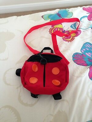 Ladybird Backpack And Reins