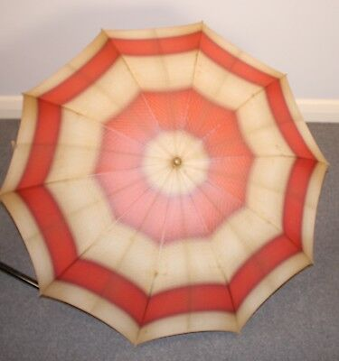 1930s ORIGINAL VINTAGE UMBRELLA. AS IS.