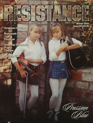 LOT OF 15 RESISTANCE MAGAZINES isd 88 NEVER CIRCULATED OOP RARE OLD STOCK