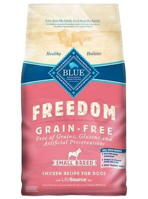 Blue Freedom Grain Free Chicken Small Breed Adult Dog Food