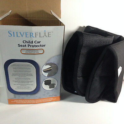 Silverflye Universal Child Car Seat Protector Fits Most Car Seats