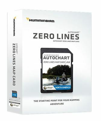 Humminbird 600033-1 Electronic Chart Zero Line Build Your Own 32GB Map Card