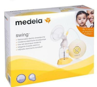 Medela Swing Electric Breast Pump with Calma Brand New Sealed Box Free Post