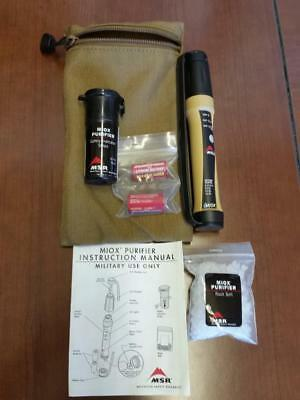 MSR MIOX Water Purifier Authentic Military Issue USMC SOF Brand NEW w/batteries