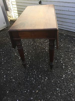 Antique Victorian  Mahogany Drop Leaf Pembroke Table. York ??