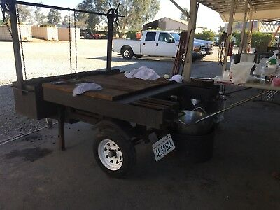 Bbq Grill Trailer