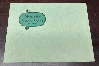 South Bend Lathes Modern School Shops Third Edition 1943