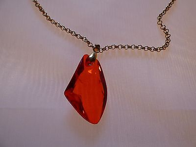 Harry Potter And The Philosophers Stone Necklace Red Pendant Jewelry