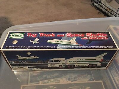 1999 Hess Truck And Space Shuttle In Mint Condition