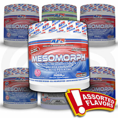 APS MESOMORPH Pre-Workout Energy Pumps Beta-alanine Citrulline 25 Servs