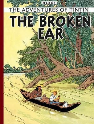 The Broken Ear by Herge (English) Hardcover Book