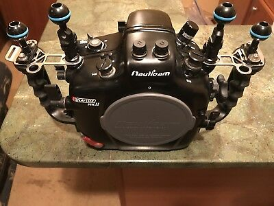 Nauticam NA-1DX MKll UnderwaterHousing  for Canon 1DXMark II Camera not included