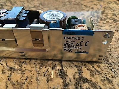 Cosel PMC30E-2 Open Frame Power Supply / 5V and +/- 15V Output