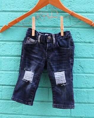 3-6 Months Jeans Baby Gap Distressed Infant Ripped Denim Custom Pants