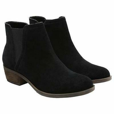 New Kensie Women's Garry Bootie Short Ankle Boots Suede Black - PICK SIZE