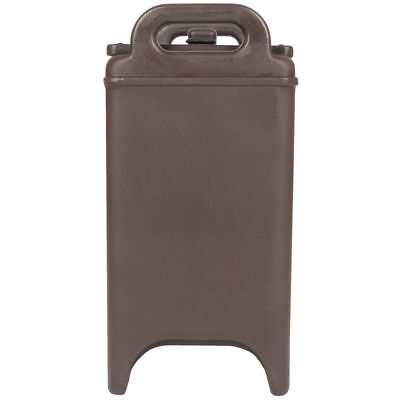 NEW  2.5 Gallon Brown Insulated Coffee Tea Hot Cold Catering Beverage Dispenser