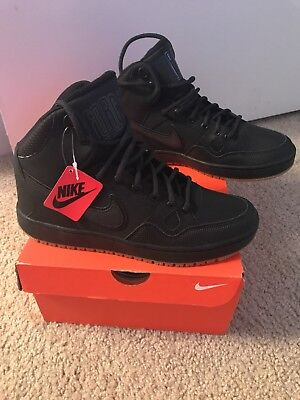 039f784c1fe9 Men s Nike Son of Force Mid Winter Shoes Basketball Size US 7 UK 6 Black