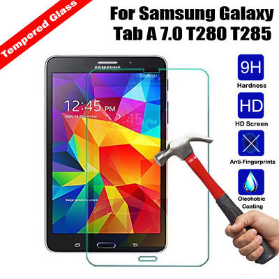 100% Genuine Tempered Glass Screen Protector For Samsung GALAXY Tab A 7.0 T280