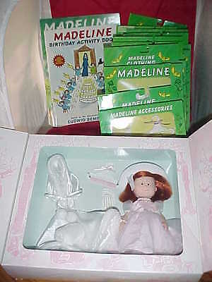 """Madelinde THE GRAND CELEBRATION 8"""" Doll Clothes NEW Sealed Birthday Book LOT"""
