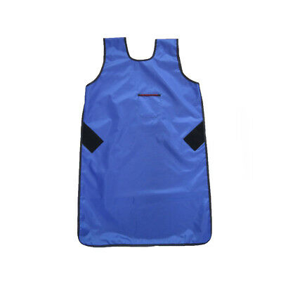US SHIP Flexible X-Ray Protection Protective Lead Apron 0.35mmpb Blue FAA07 L