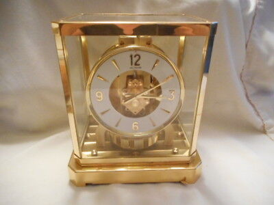 Vintage Le Coultre Atmos Atmospheric Clock Working!!!  Serial No.  176739