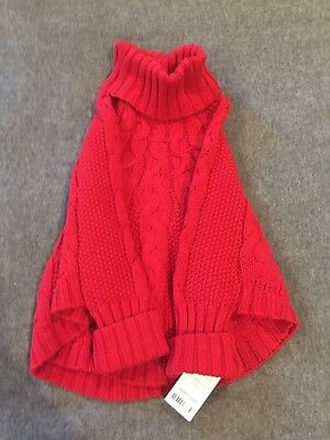 Carters Red Sweater 3t