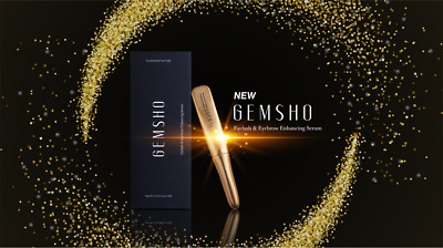 New Gemsho Eyelash & Eyebrow Enhancing Serum 3ml   U.S.A. Seller
