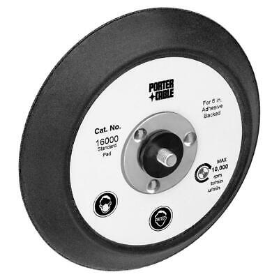 "Porter Cable A14387 Sander Pad 6"" with PSA/Adhesive Back and No Vacuum Holes"