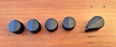 Set of 5 Raytheon MS91528  Knobs