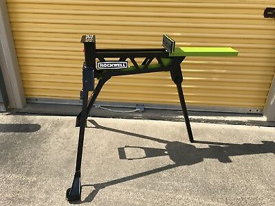 Rockwell Jawhorse Portable Material Support Station Work Vice Saw Horse RK9003
