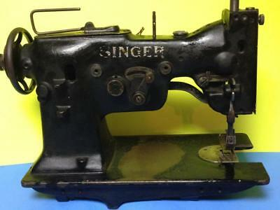 Singer 107W3 Zig Zag Heavy Duty Industrial Sewing Machine Restoration Or Parts