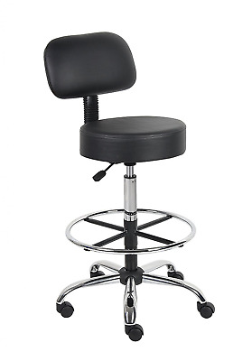 Tall Drafting Office Stools Medical Desk Chairs Workstation Counter Shop Bar