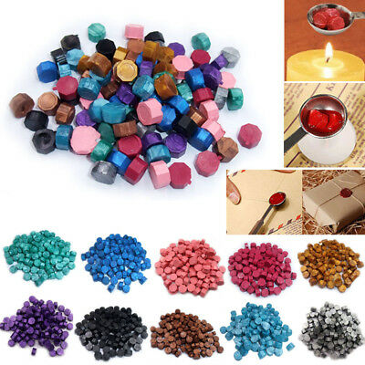 100pcs Sealing Wax Beads For Retro Seal Stamp Wedding Envelope Invitation Card