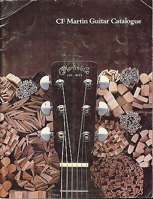 1977 CF Martin Guitar Catalog: Ukulele, Tiple, Mandolin, Dreadnought, Great Pics