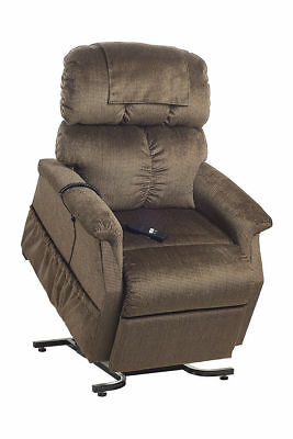 Cq Junior Chair Power Lift & Recline Armchair Padded Synchronised Legrest With H